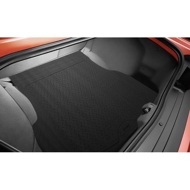 Zone Tech Trimmable Car Auto Rubber Black Cargo Trunk Heavy Duty Floor Mat