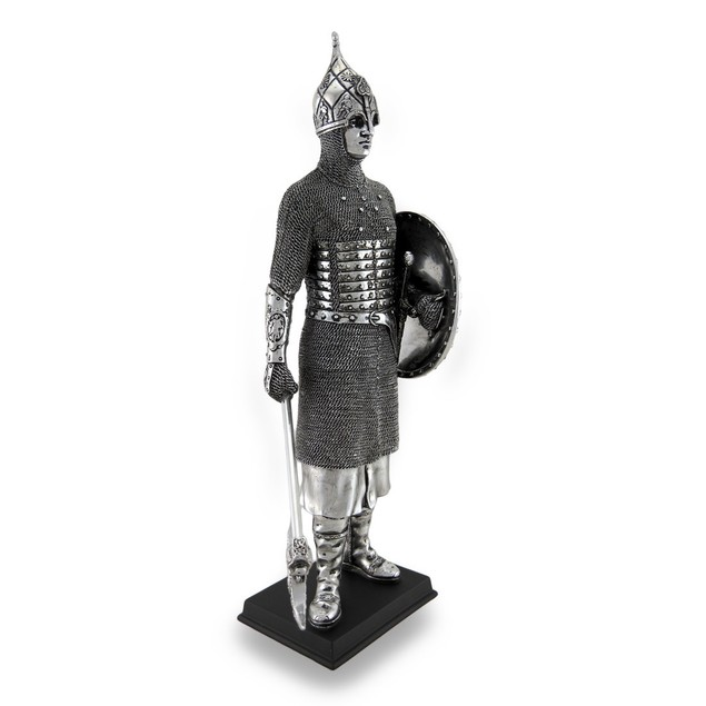 Medieval Knight Wearing Ibrahim Sultan Ibn Statues