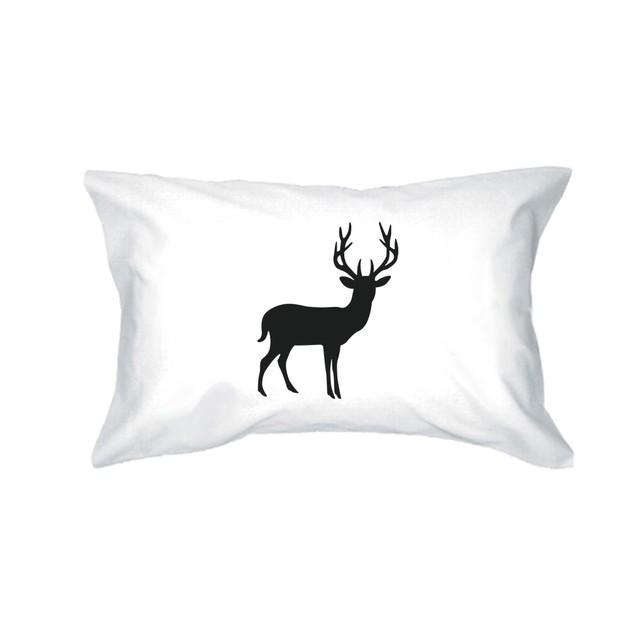 Buck and Doe Cute Couple Pillowcases