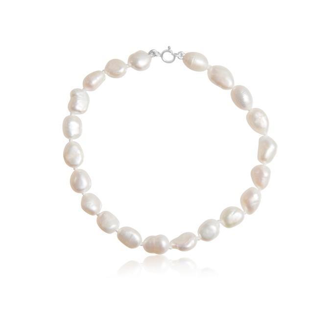 6mm Freshwater Cultured Baroque Pearl Bracelet