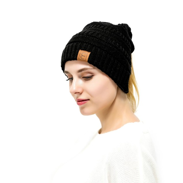 Popular CC Chic Pony Beanie