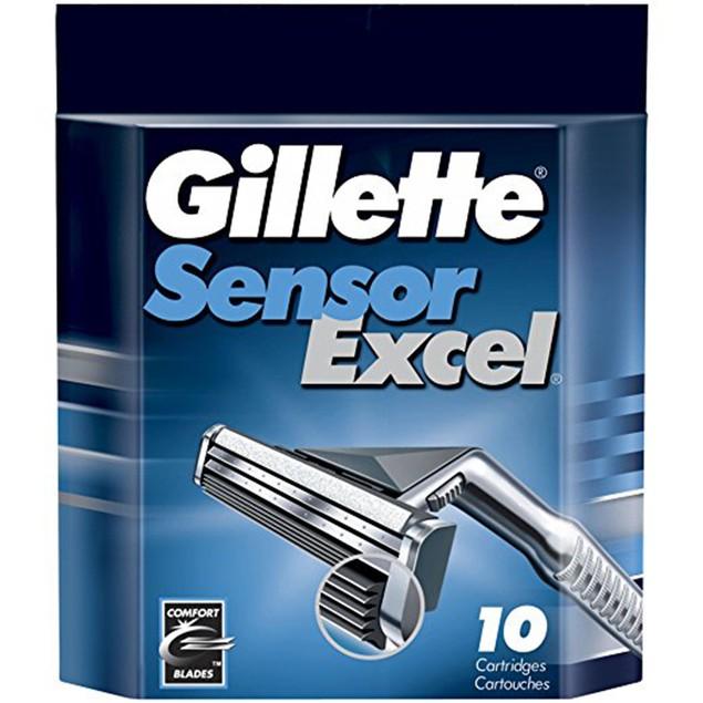 Gillette Sensor Excel - 50 Count
