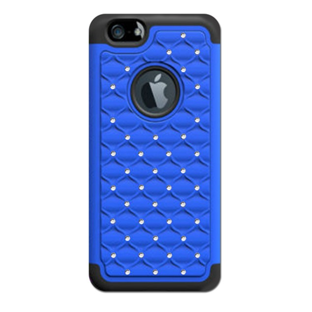 2-Pack: Slim Profile Cases for iPhone 6 or 6 Plus - Studded Diamond