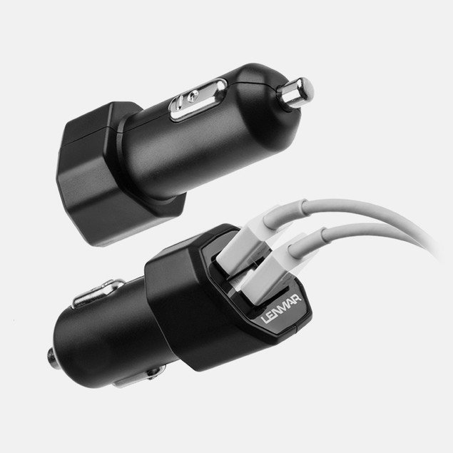 Lenmar Hi-Output 4.2A Dual USB Rapid Car Charger
