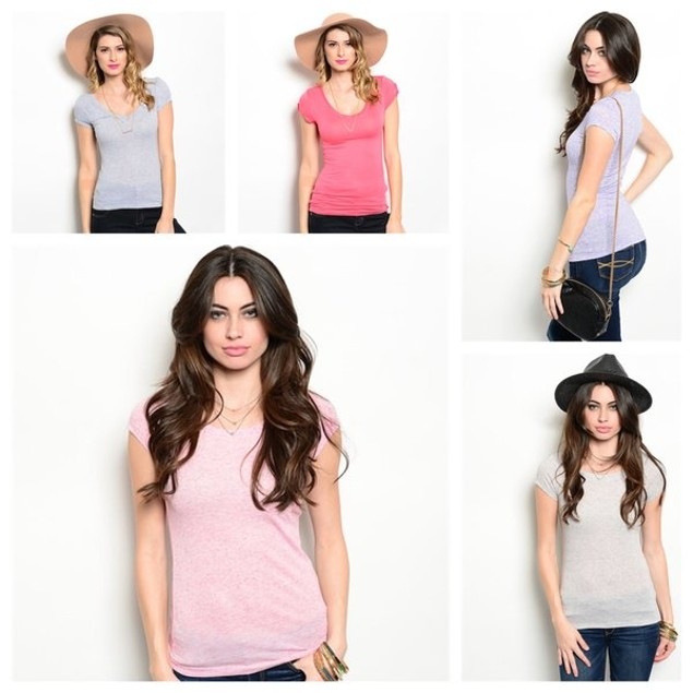Charming Basic T-Shirt - 4 Colors