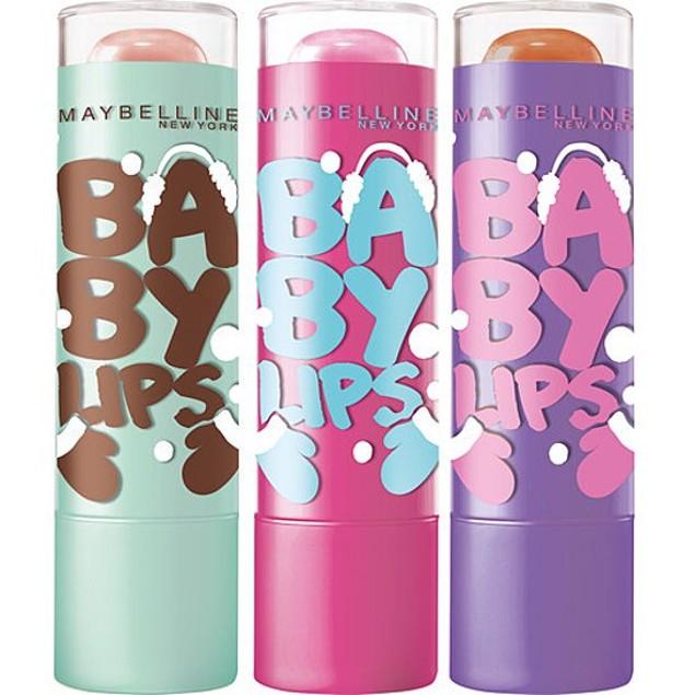 Maybelline Pack Of 4 Baby Lips Moisturizing Lip Balm