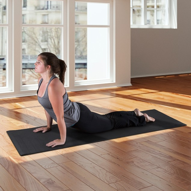 Wakeman Fitness Double Sided Yoga Mat