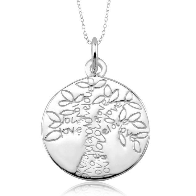 Sterling Silver Tree of Life Pendant Necklaces - 6 Styles