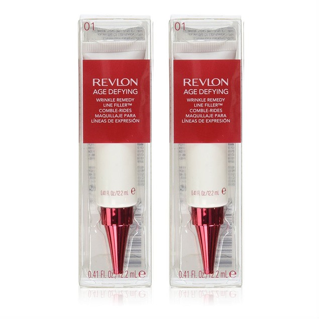 Revlon Age Defying Wrinkle Remedy Line Filler, 0.41 Oz - Choose Pack Size