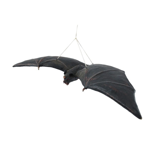 Set Of 2 Cool Decomposing Vampire Bat Hanging Statues