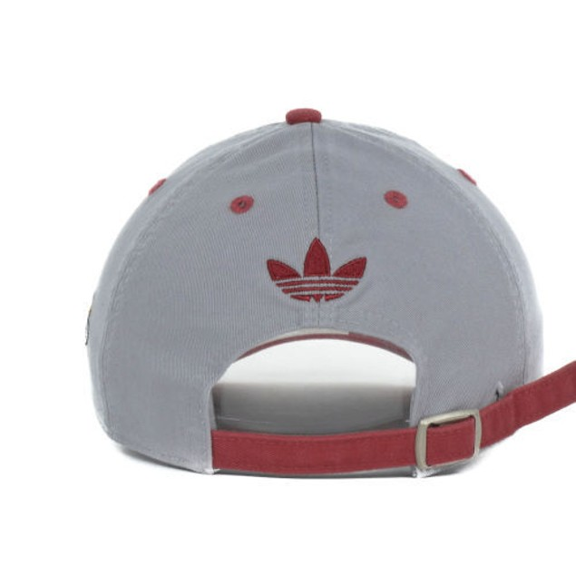 "Miami Heat NBA Adidas ""Script Slouch"" Adjustable Hat"