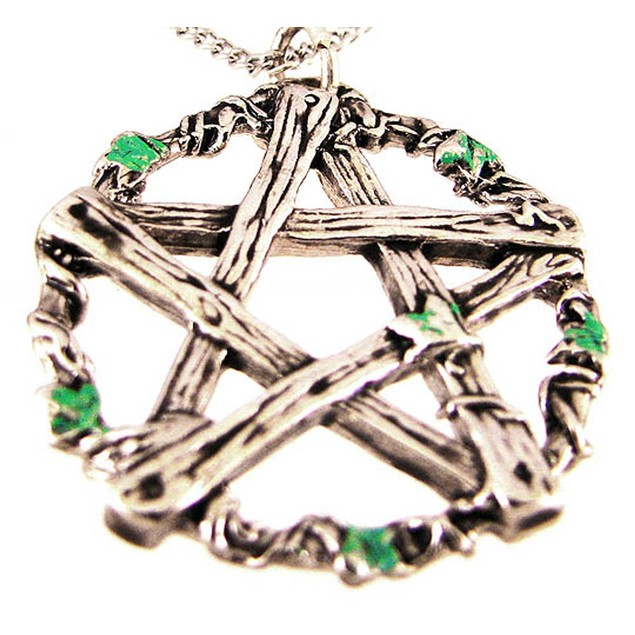 `Pentagram Of Pan` Necklace Talisman Against Mens Pendant Necklaces