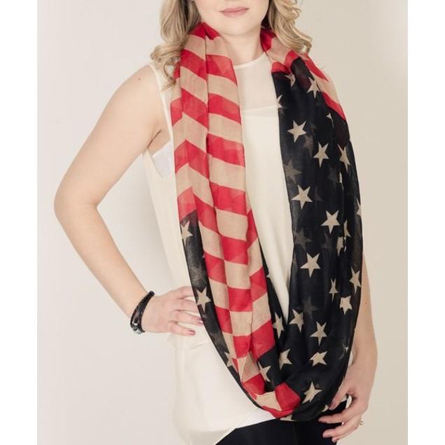 Summer Patriotic Scarf - 2 Styles