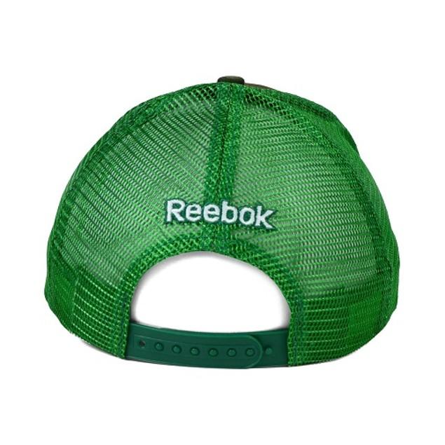 "Dallas Stars NHL Reebok ""Camo Trucker"" Adjustable Snapback Hat"