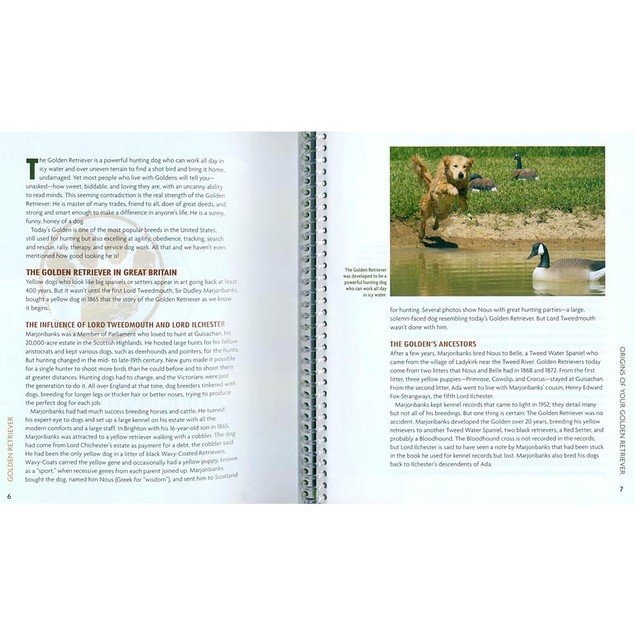 Animal Planet Golden Retriever Book, Golden Retriever by TFH Publications