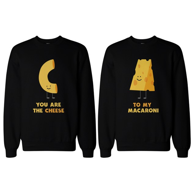 You're the Cheese to My Macaroni BFF Matching SweatShirts for Best Friend