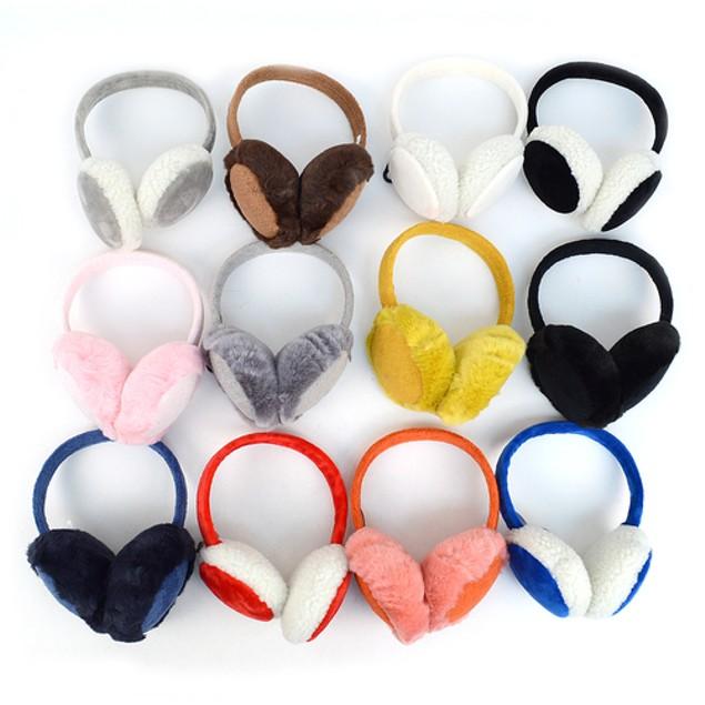 2-Pack Womens Extra Furry Ear Muffs
