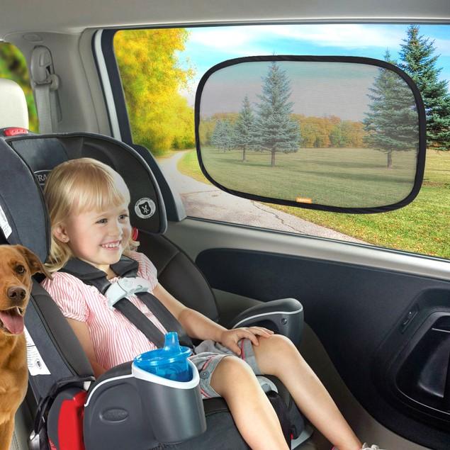 Car Sun Shade - Static Cling Auto Window Shades - Super UV Protection
