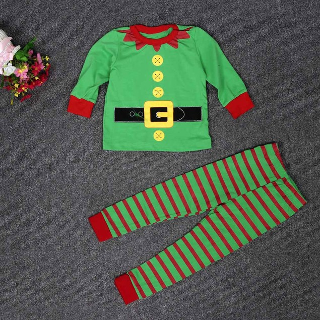 Baby Christmas Long Sleeve, Long Pants Set