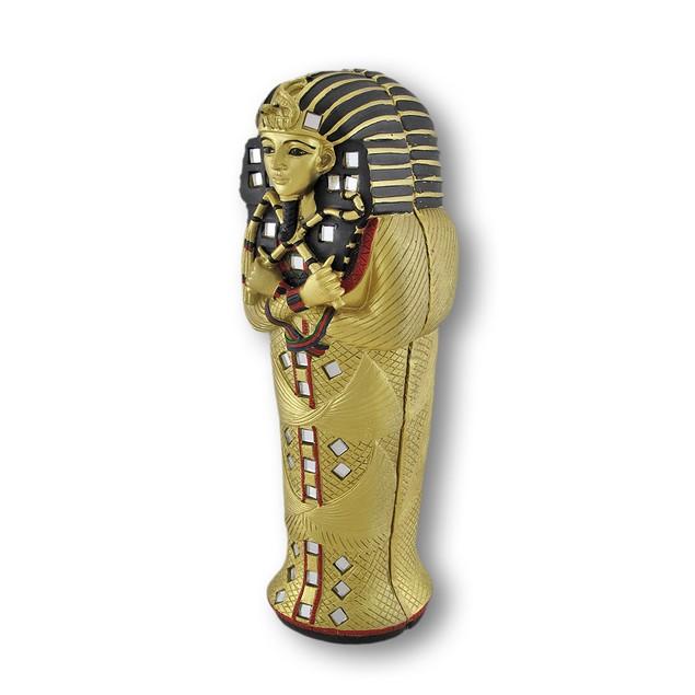 Egyptian King Tut Sarcophagus Box W/ Mummy Inside Decorative Boxes