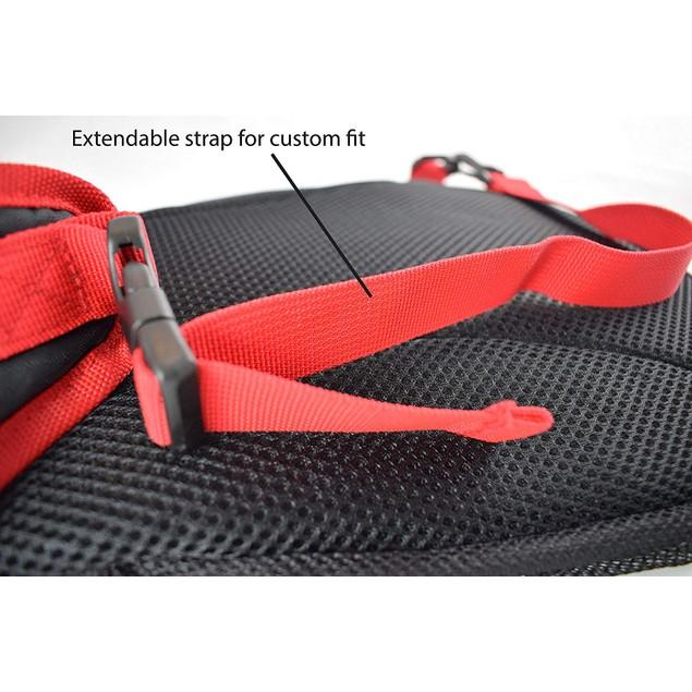 BleuJack Cross Body Sling Light Weight Travel Bag Backpack