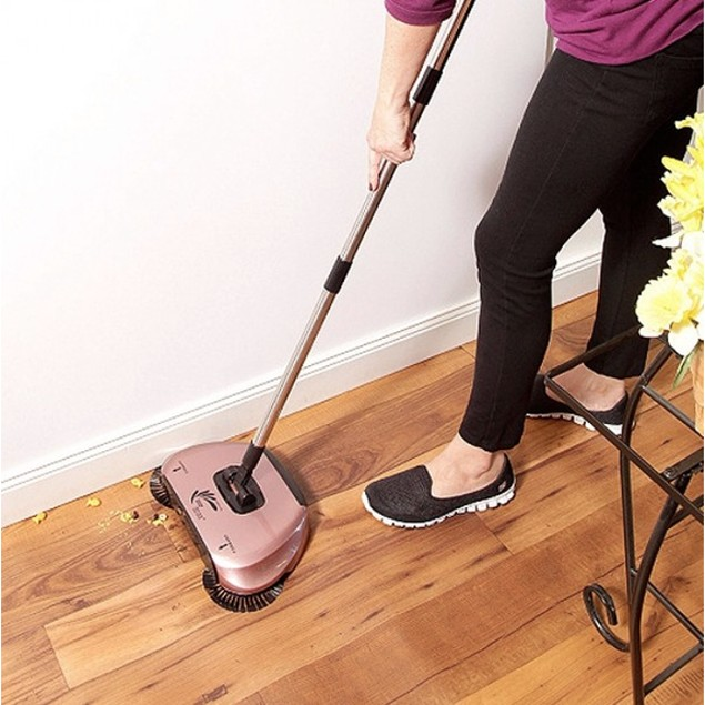 EasyEdge Lightweight Hard Floor Swivel Sweeper