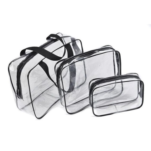 Transparent Waterproof Cosmetic Pouches