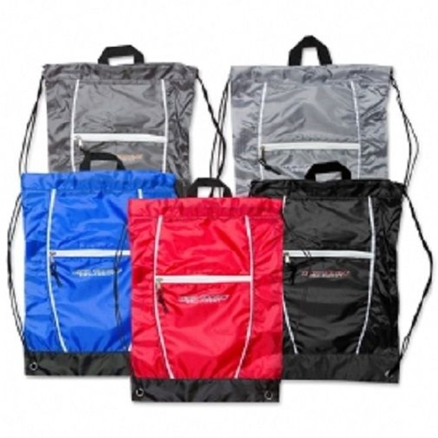 High Trails Solid Color Drawstring Bag