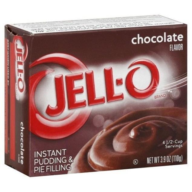 Jello Chocalate Instant Pudding & Pie Filling Mix 3.4oz Box