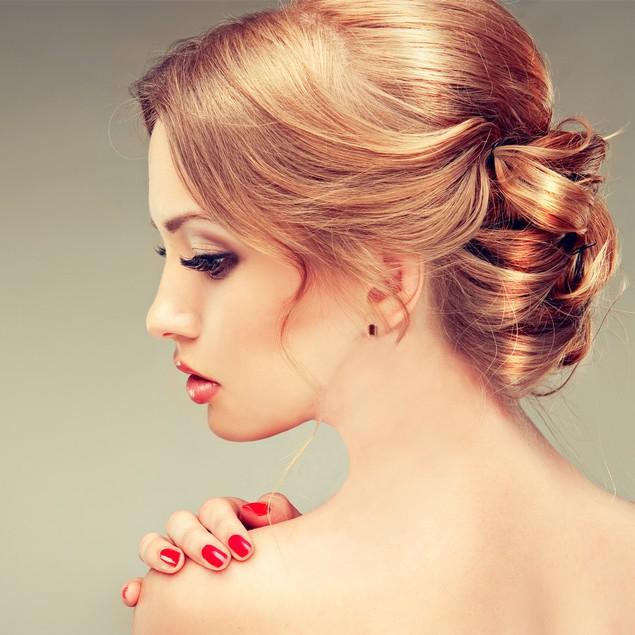 Emerald Cut Garnet Earrings