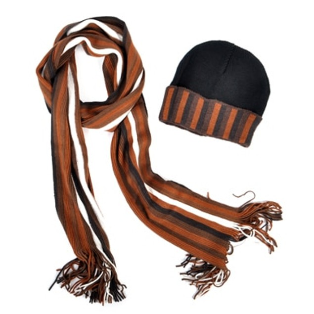 Scarf And Hat Assorted Pack Acrylic Winter Set
