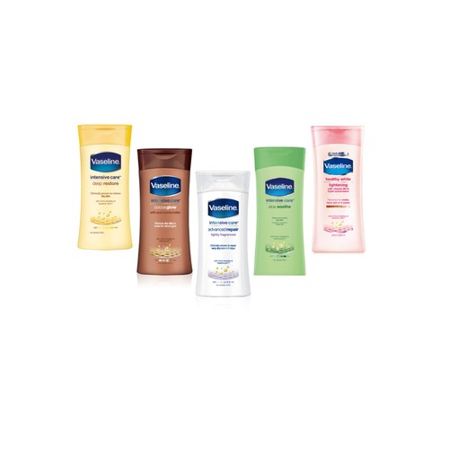 Vaseline Intensive Care Body Lotion, Pack of 6 13.5 oz (400 ml)