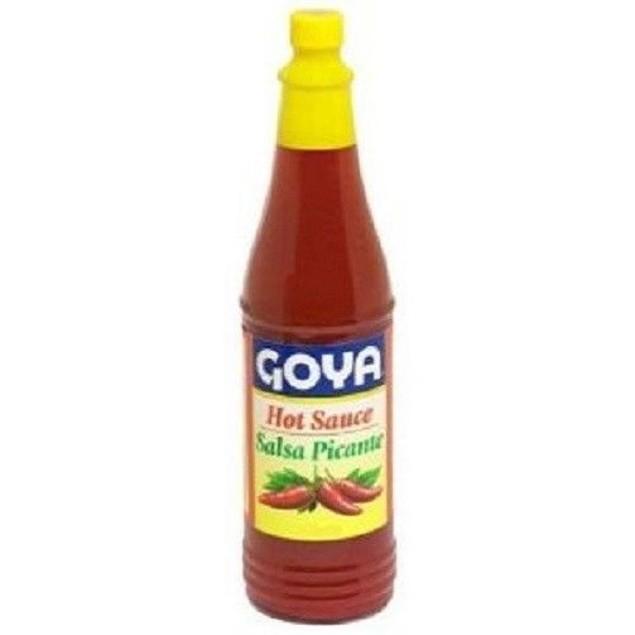 Goya Hot Sauce Salsa Picante 6oz Bottle
