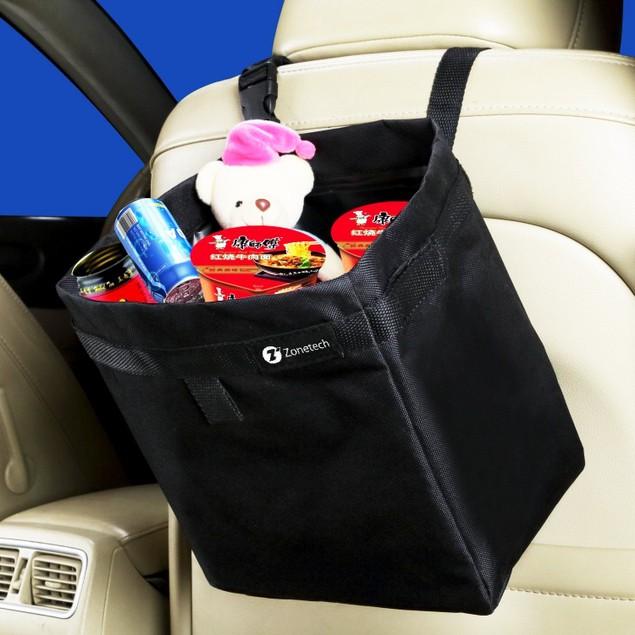 Zone Tech Leakproof Car Vehicle Trash Litter Storage Bag Orgnizer