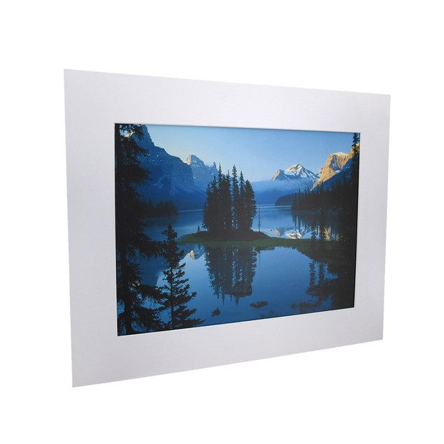 National Geographic Matted Print - Maligne Lake - Prints