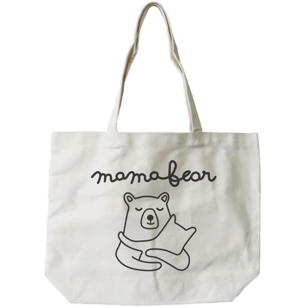 Mama Bear Women's Canvas Tote Bag