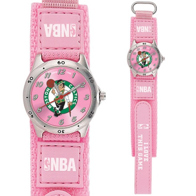 Boston Celtics Girls NBA Watch
