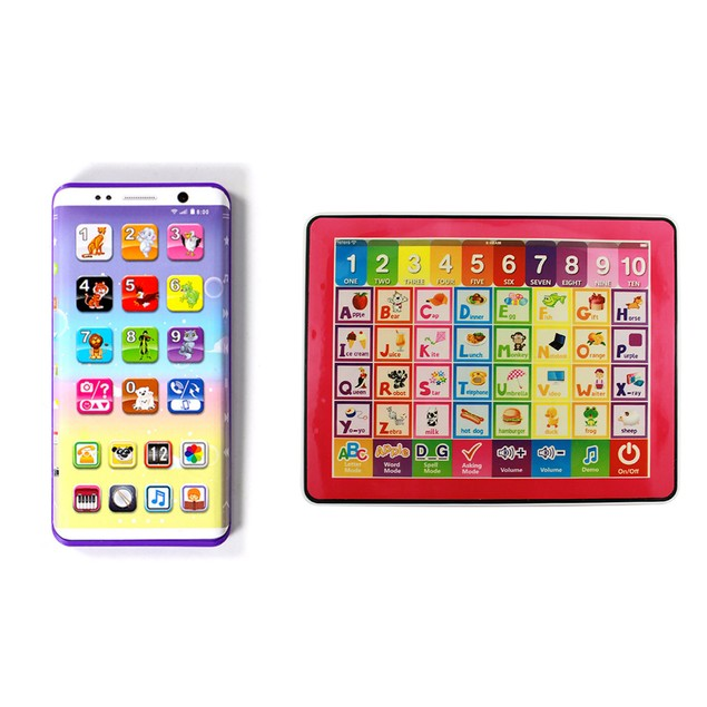 Kids Learning Tablet & Smartphone 2-in-1 Bundle