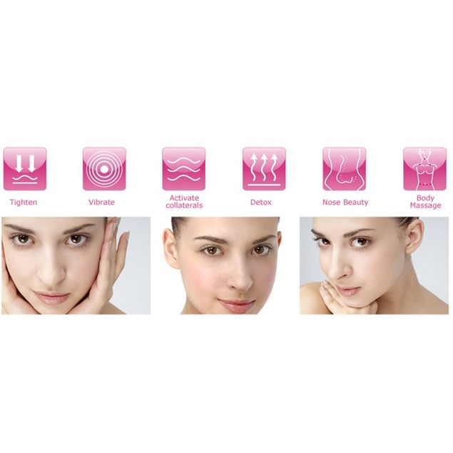 Two Elephants™ 5-in-1 Smoothing Facial Massager