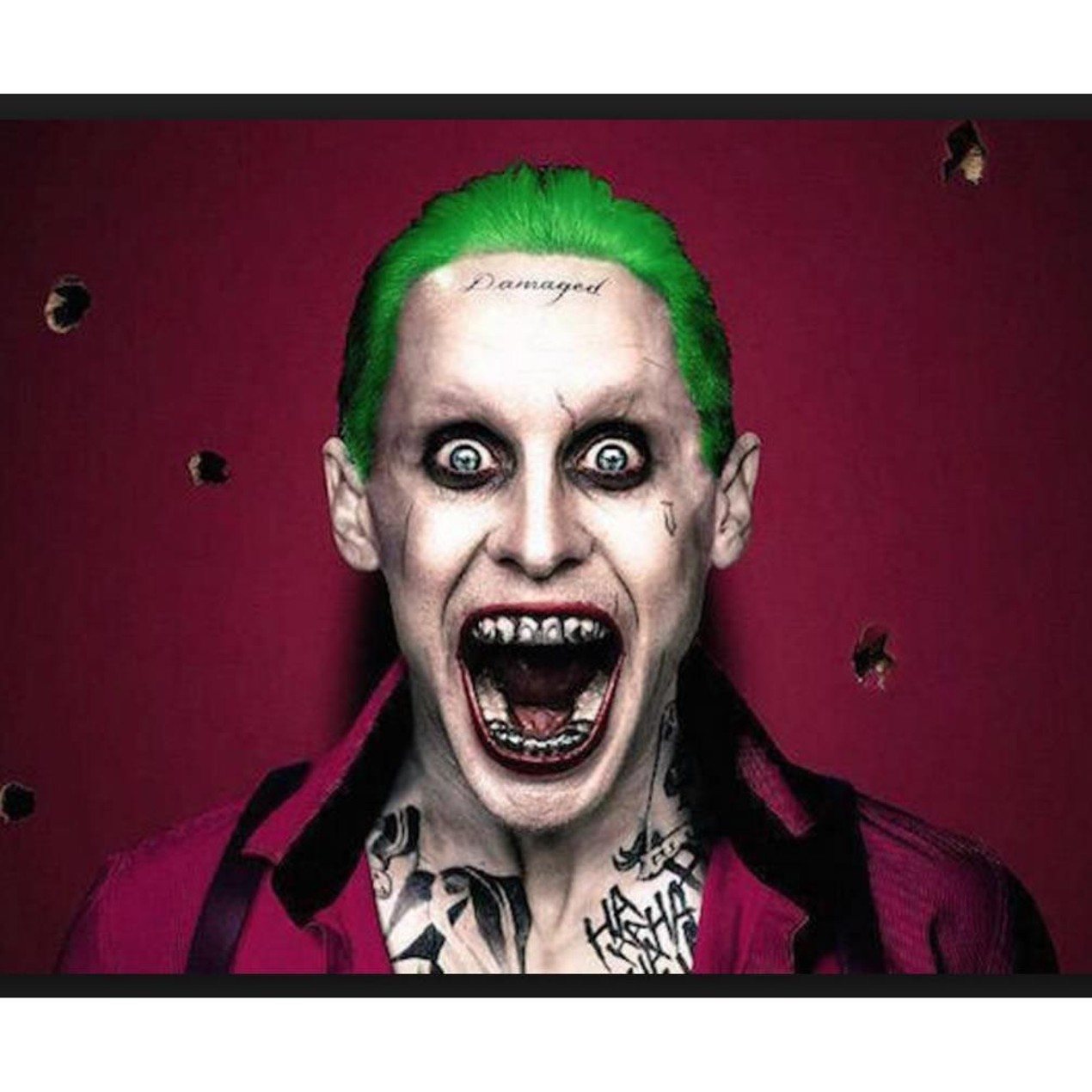 Rubies Suicide Squad The Joker Temporary Body Tattoo Kit Costume