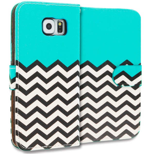 Samsung Galaxy S6 Edge Wallet Pouch Case Cover with Slots