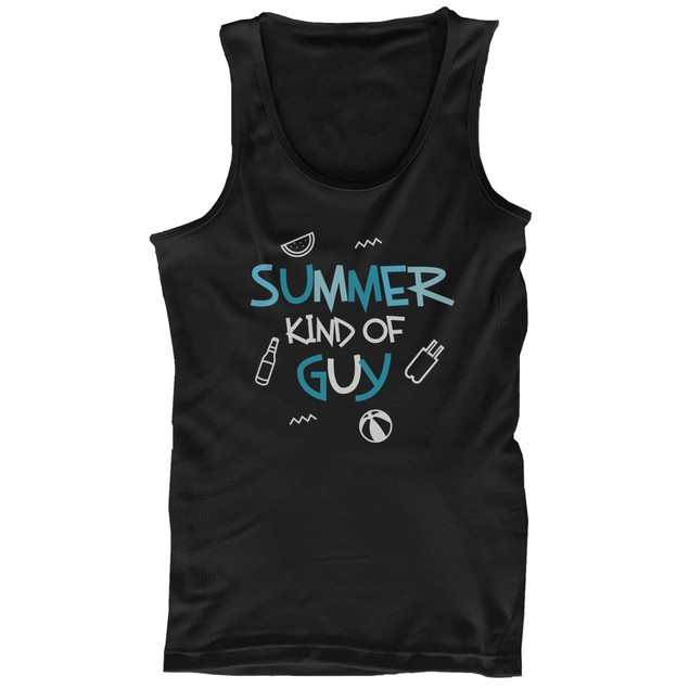 Summer Kind of Girl and Guy Cute His and Hers Matching Couple Tank Tops