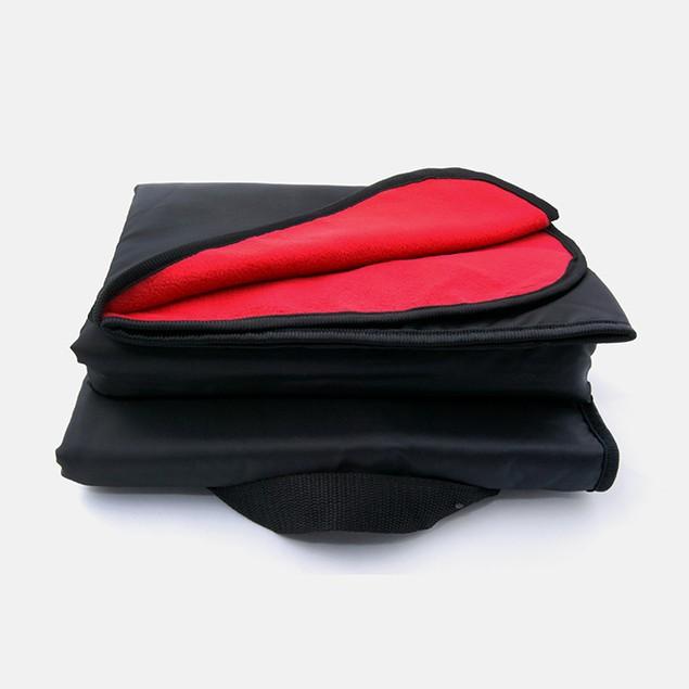Versatile & Cozy Dual Sided Fleece Stadium Blanket