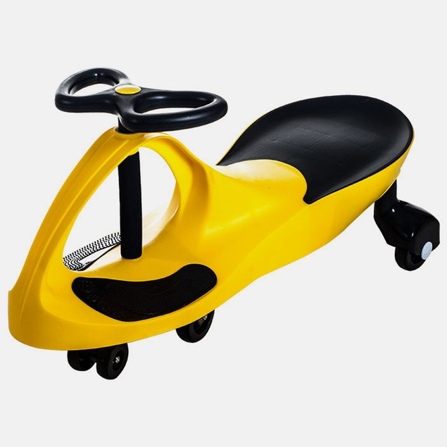 Lil' Rider Wiggle Car Ride On - Yellow