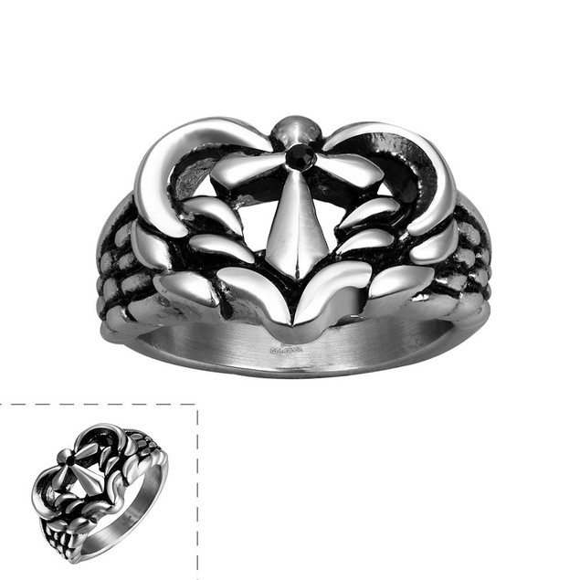 Leopard Stainless Steel Ring