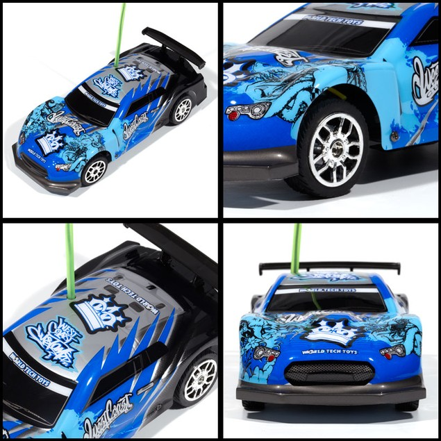 Licensed West Coast Customs Blue Tricked Out X-Ryders 1:32 RTR RC Car