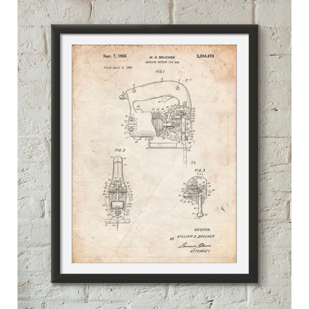 Jigsaw Patent Poster