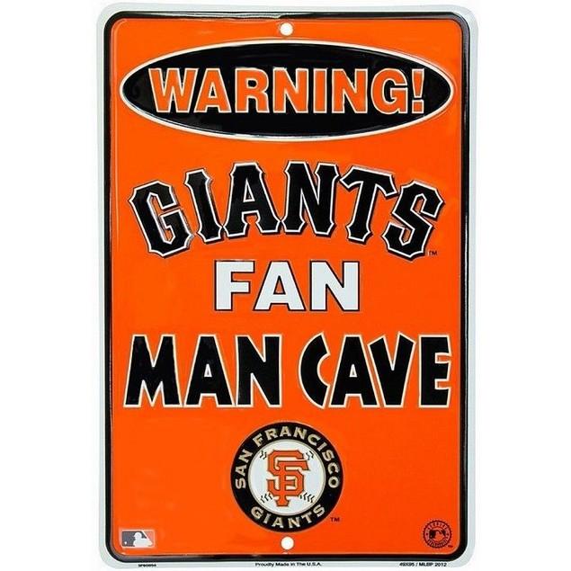 San Francisco Giants MLB Fan Man Cave Parking Sign
