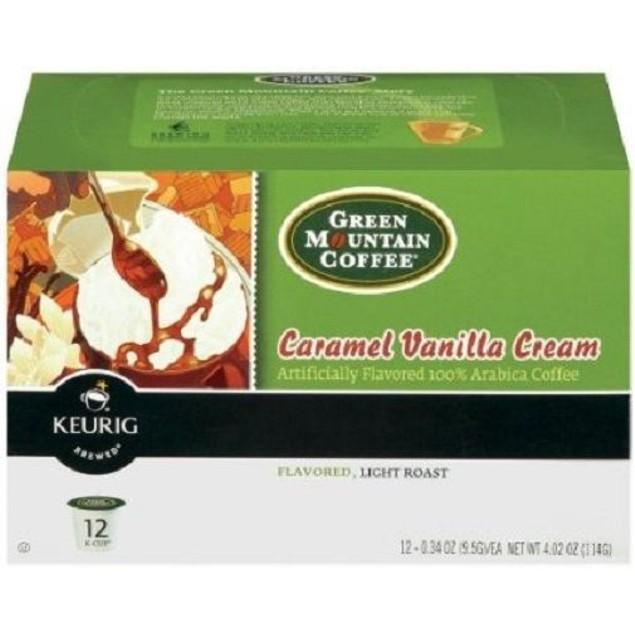 Green Mountain Coffee Caramel Vanilla Cream Keurig K-Cups
