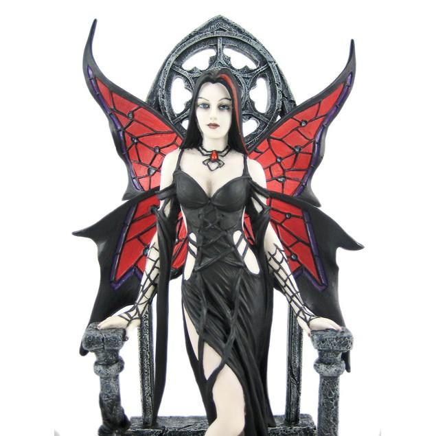 Arachnafaria Gothic Fairy Statue Anne Stokes Statues